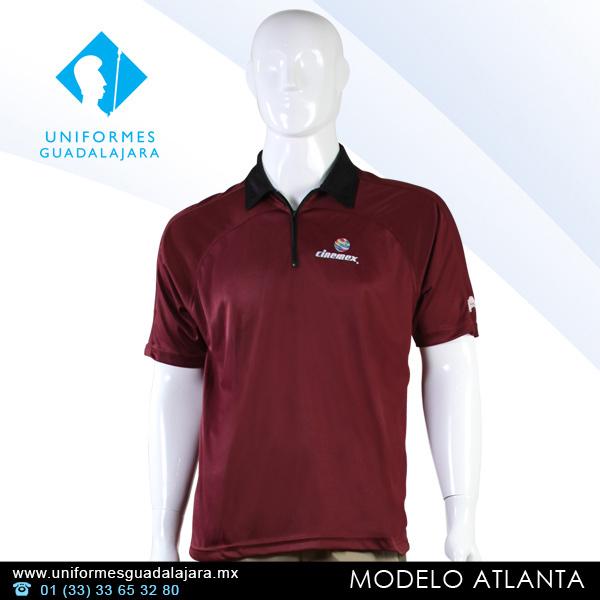0905efe2eecac Playeras tipo polo para uniformes - Uniformes Guadalajara