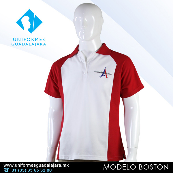 Playeras tipo polo para uniformes - Uniformes Guadalajara 37a2e42f4f37d