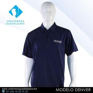 Denver - Playeras polo para uniformes en Guadalajara