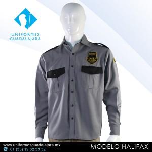 Halifax - Camisas para uniformes de seguridad