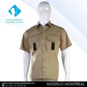 Montreal - Camisas para uniformes de trabajo