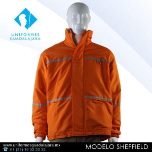 Sheffield - Chamarras para uniformes de seguridad