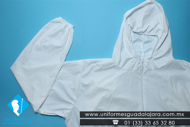 Overol blanco de protección Uniformes Guadalajara
